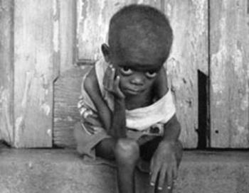 Fome, miséria e AIDS na África