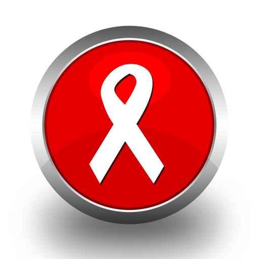broche símbolo da luta contra aAIDS