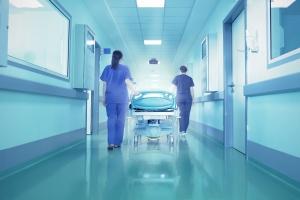 Corretor hospitalar. Assepsia completa