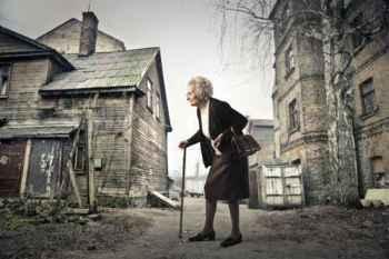 Senhora idosa