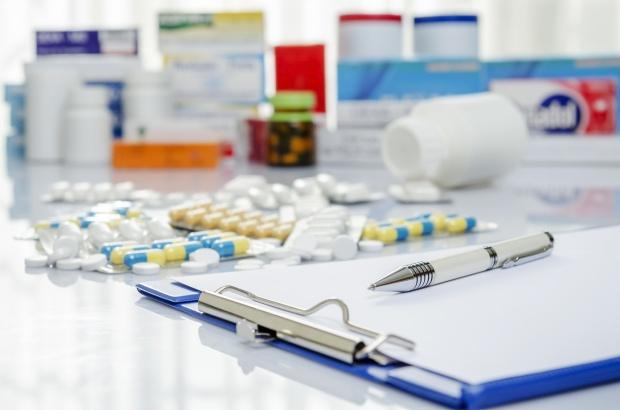 Doctor prescription and medicine