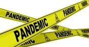Пандемия (pandemic). Желтая оградительная лента
