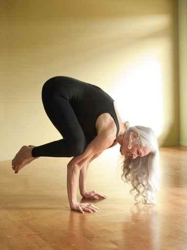 Crow Yoga Crone