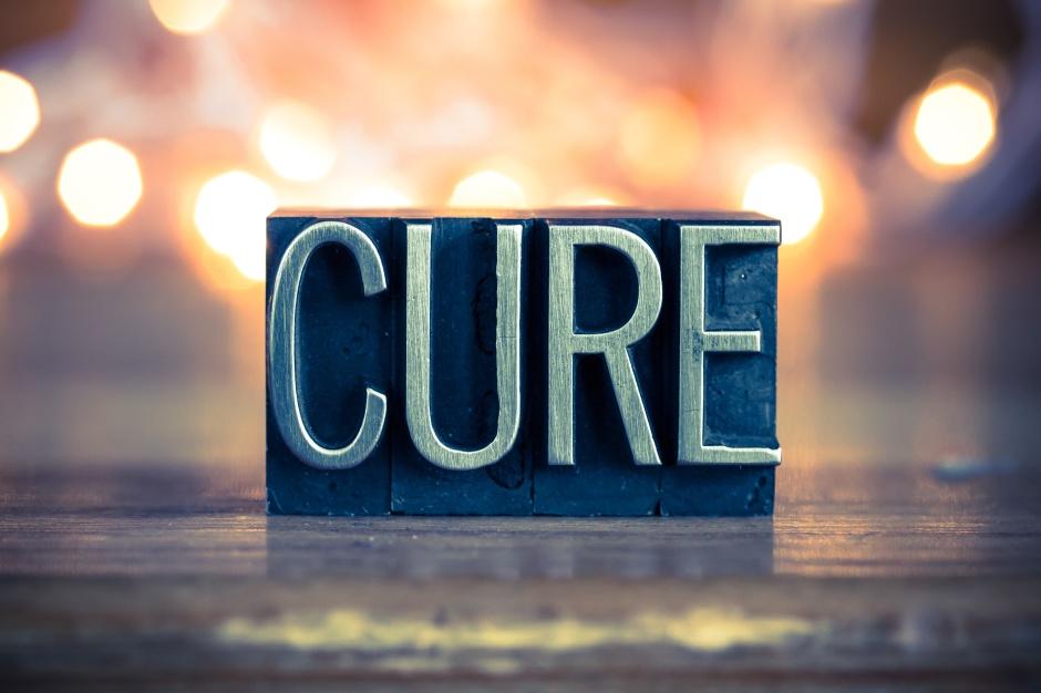 Cure Concept Metal Letterpress Type