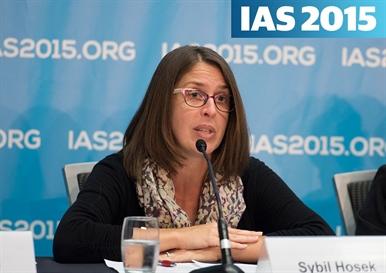 Sybil Hosek at IAS 2015 photo ©Marcus Rose/IAS