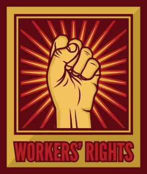 worker`s rights poster