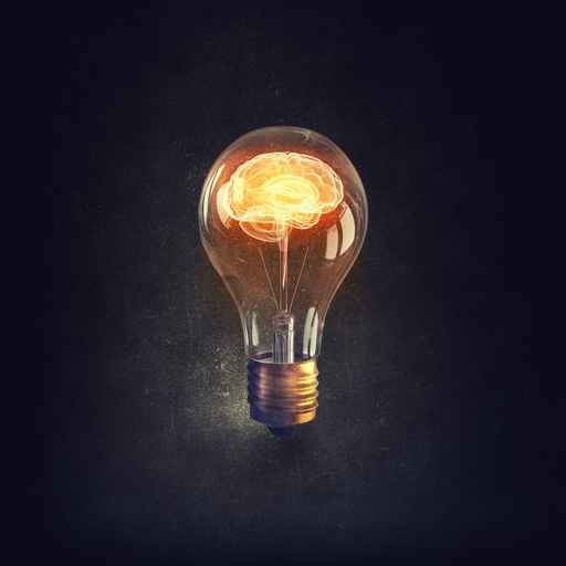 Human mind. Concept image