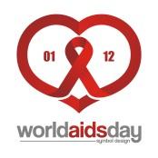 AIDS Care Symbol 0112 Design Illustration