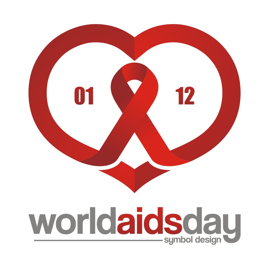 AIDS Care Symbol 0112 Design Illustration