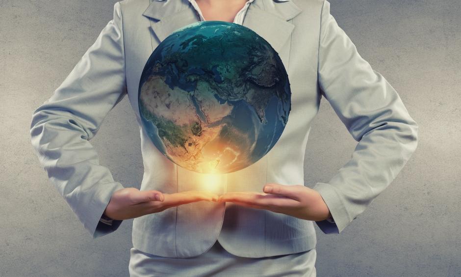 O planeta em nossas mãoes