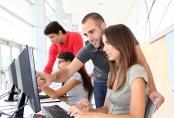 Graduandos em Universidade informatizada
