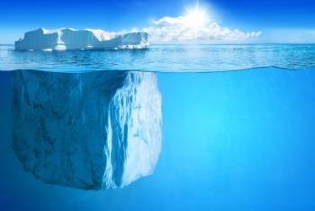 La gran vista de uno homeme suele ser la punta del iceberg