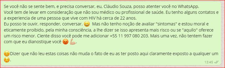 Whats App Soropositivo.Org